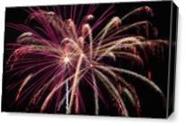 Firework 2 As Canvas