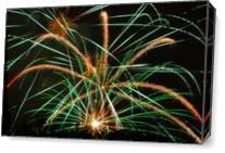 Firework 3 As Canvas