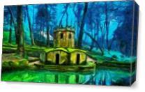 Hobbit's Castle As Canvas