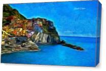 Manarola As Canvas