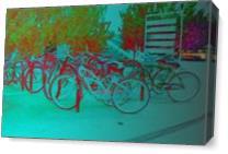 Magical Bikes As Canvas