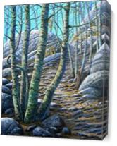 Aspen Trail As Canvas