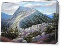 Mountain Trail  As Canvas