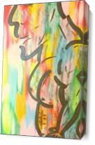 Rainbow Rambo As Canvas