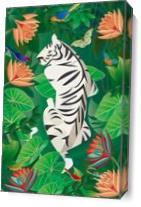 Siesta Del Tigre As Canvas