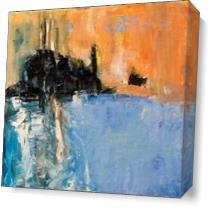 Coastline As Canvas
