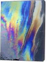 Asphalt Abstract I - Gallery Wrap