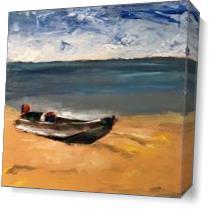 Boat II As Canvas