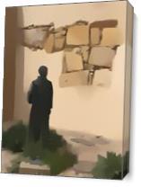 Father Junipero Carmel Mission As Canvas