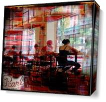 Knoxville Coffee Shop As Canvas
