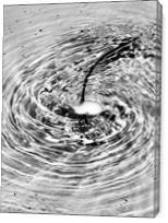 Water Circle - Gallery Wrap