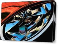 Car Show I As Canvas