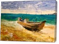 Boat III - Gallery Wrap