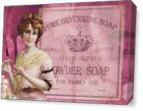 Vintage Beauty Powder Soap