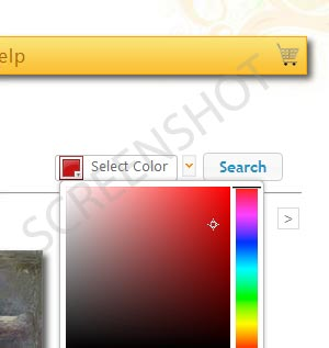Pick a Color to Search